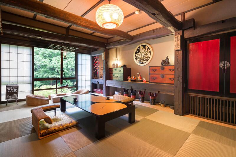 湯西川温泉|お部屋 快適な空間を追求
